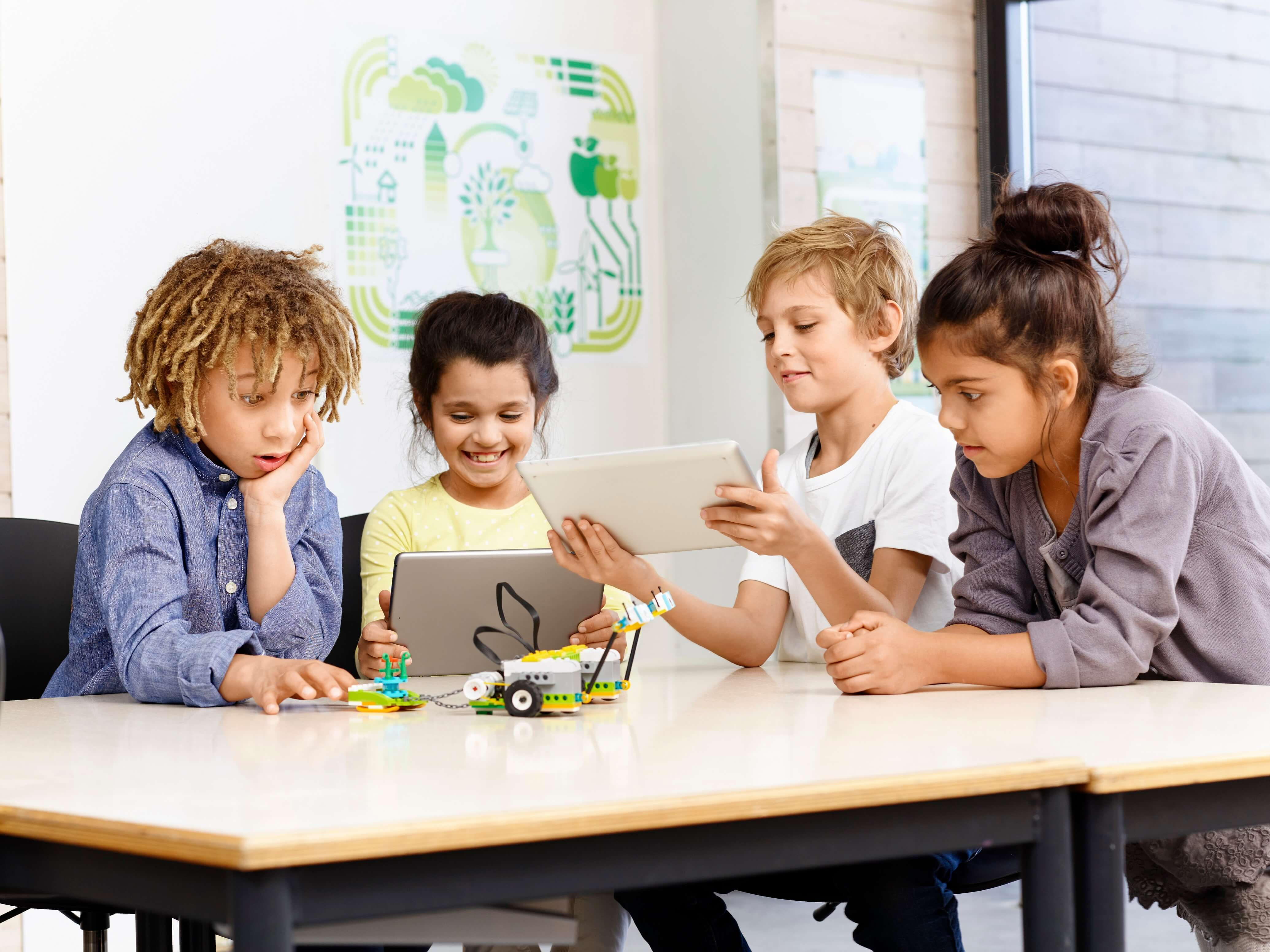 LEGO Education оживляет науку с помощью WeDo 2.0